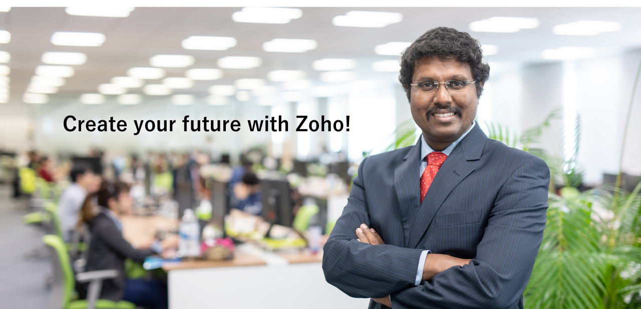 Create your future with Zoho!